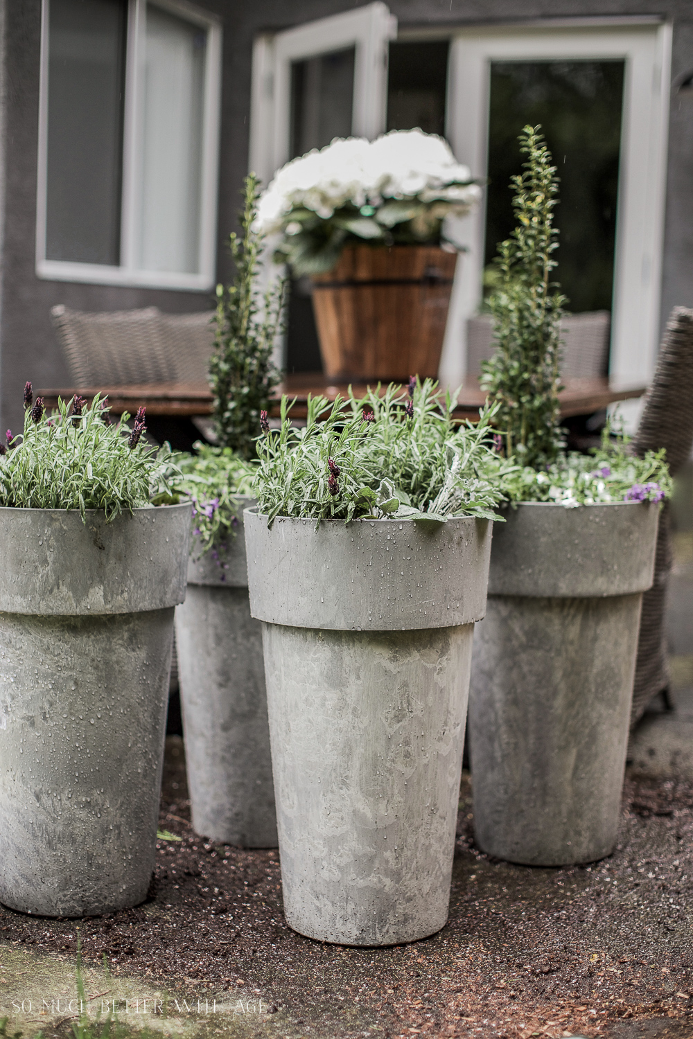 Tall Planters Outdoor
