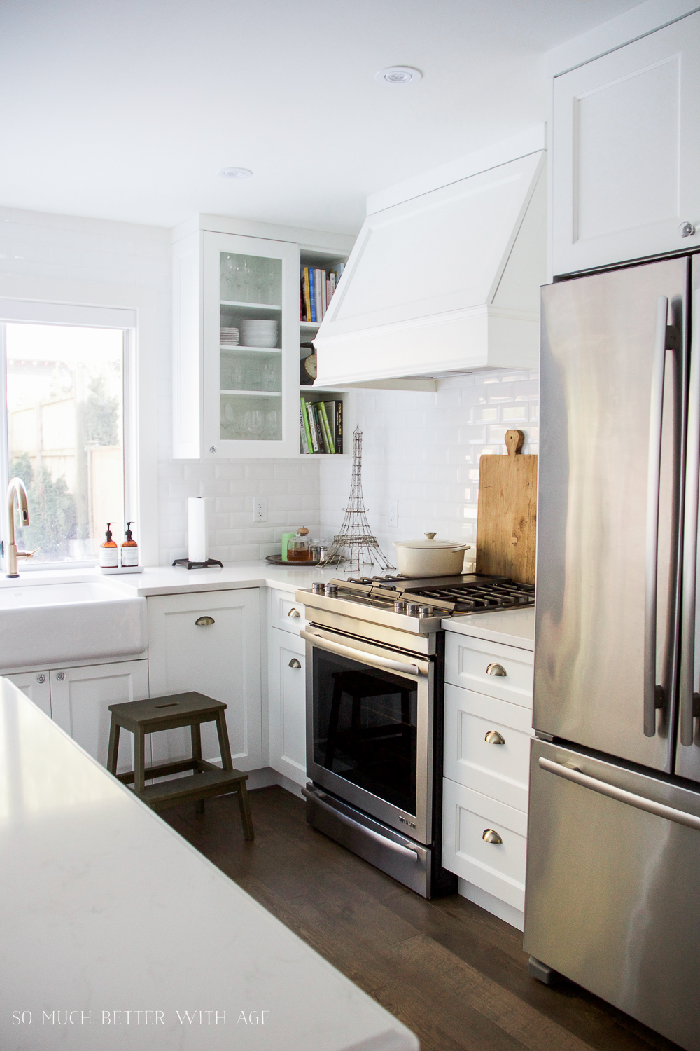 My Big Beautiful Kitchen Renovation  Before and After