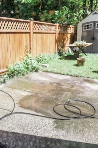 How to Paint Stripes Like an Outdoor Rug on Patio Concrete ...