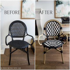 French Cafe Chairs Wedding Chair Covers Ipswich 10 Bistro So Much Better With Age If You Want To Make Your Own Can Follow My Tutorial Here