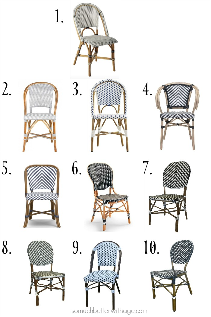 paris bistro chairs outdoor commode chair rental 10 french so much better with age frenchdecore
