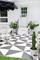 10 Painted Concrete Patio / Floor Ideas   So Much Better ...