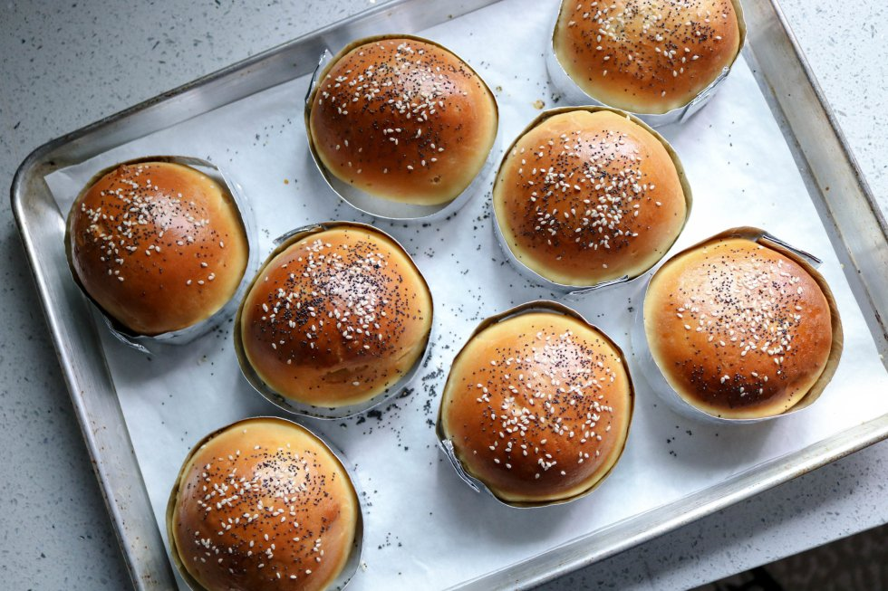 the best brioche burger buns