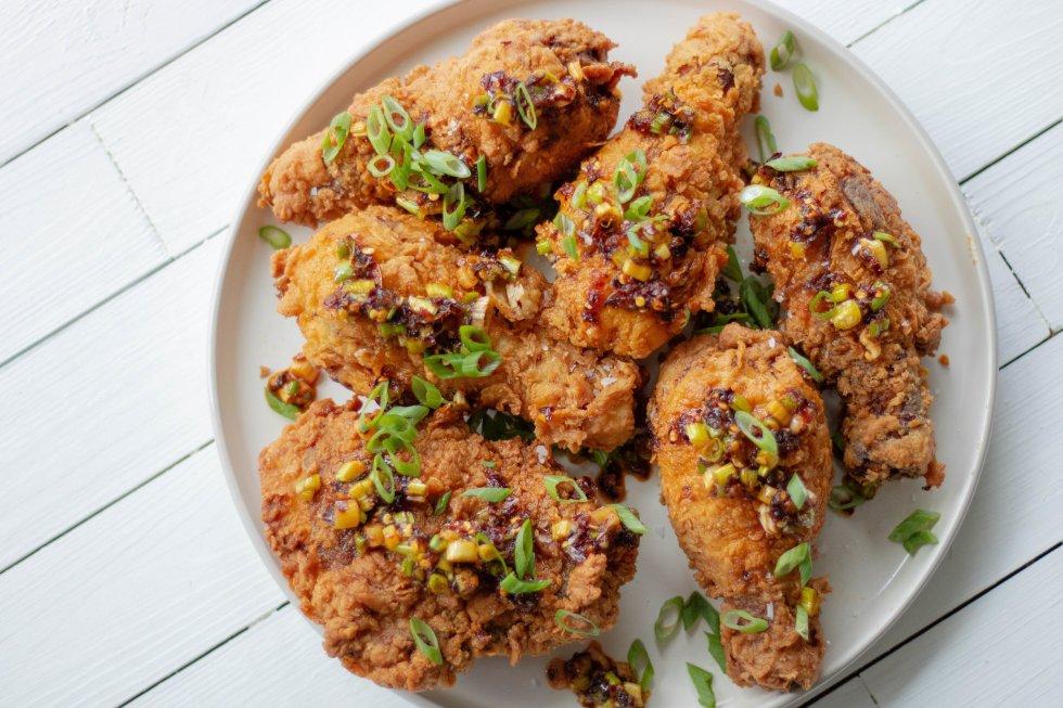 lemongrass fried chicken