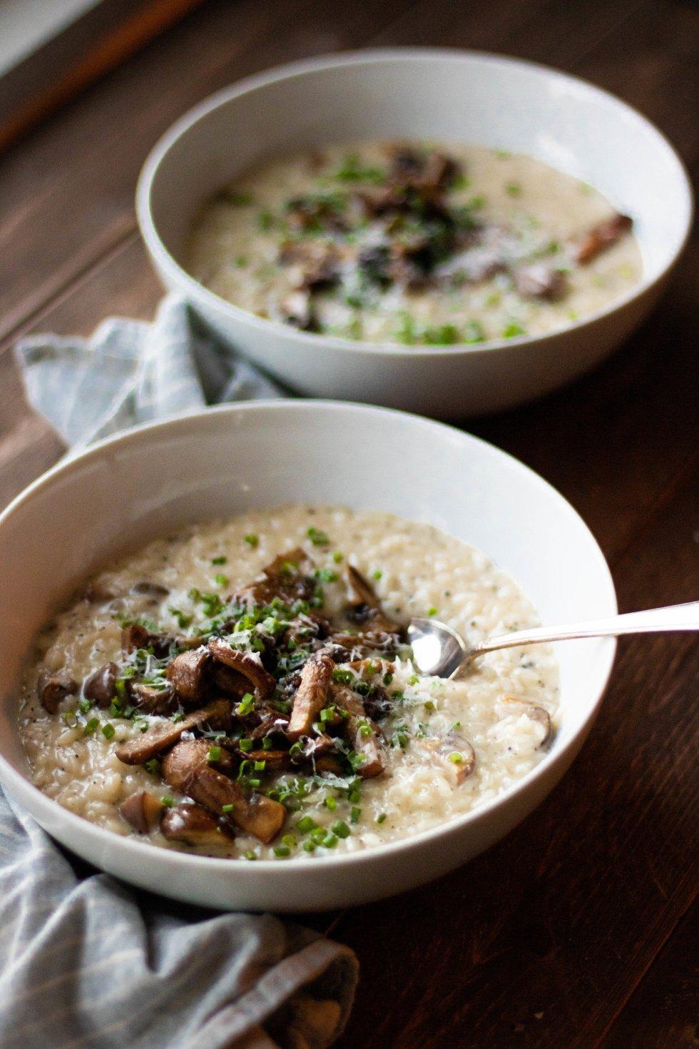 truffle mushroom risotto