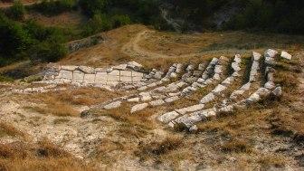 Мраморният театър над селото :)