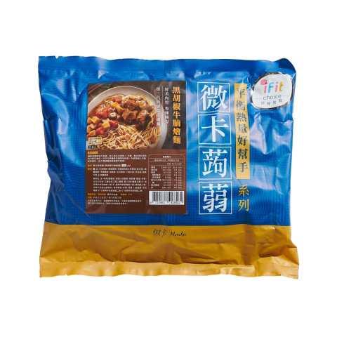 微卡 - 蒟蒻燴麵 黑胡椒牛腩 8562