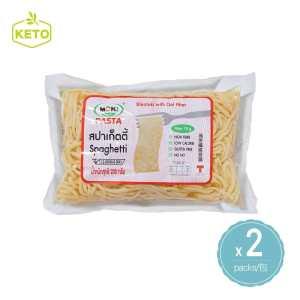 MOKI - 燕麥纖維意粉 蒟蒻麵 2包裝