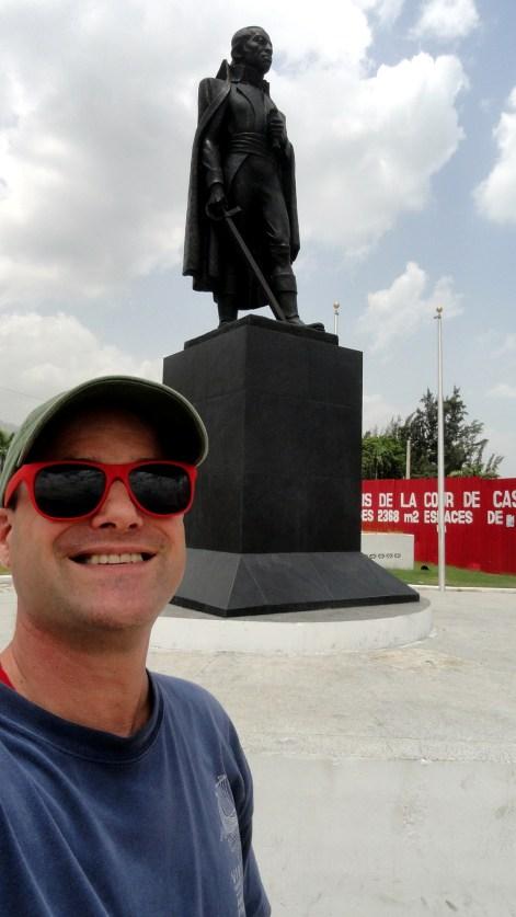 Paul at Toussaint Memorial