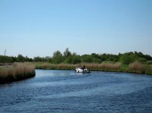 Canal Boat near Suurhusen
