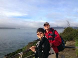Kirsten & Paul on Alcatraz
