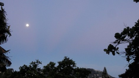 Moonset on Montagne Noir