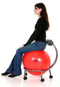Best Yoga Ball Chair of 2016 - Stay Fit & Healthy at Work