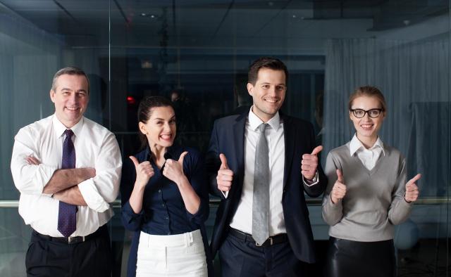 ビジネスチームの画像