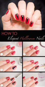 halloween nail art tutorial ii