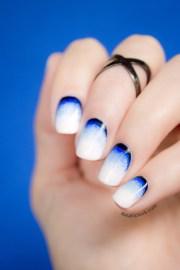 stormy beach nail art inspired
