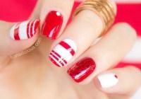 Nail Design Red And White - Nail Arts