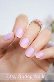 easy spring nail design sonailicious