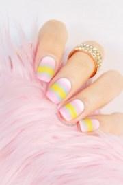 matte ombre pastel nails - sonailicious