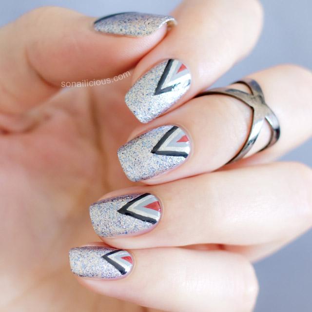 50 Shades Of Grey Nails And Nailart
