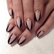 gold moon nails mia superflynails