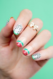 sophia webster watermelon nails
