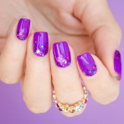 mani monday #facemyday purple