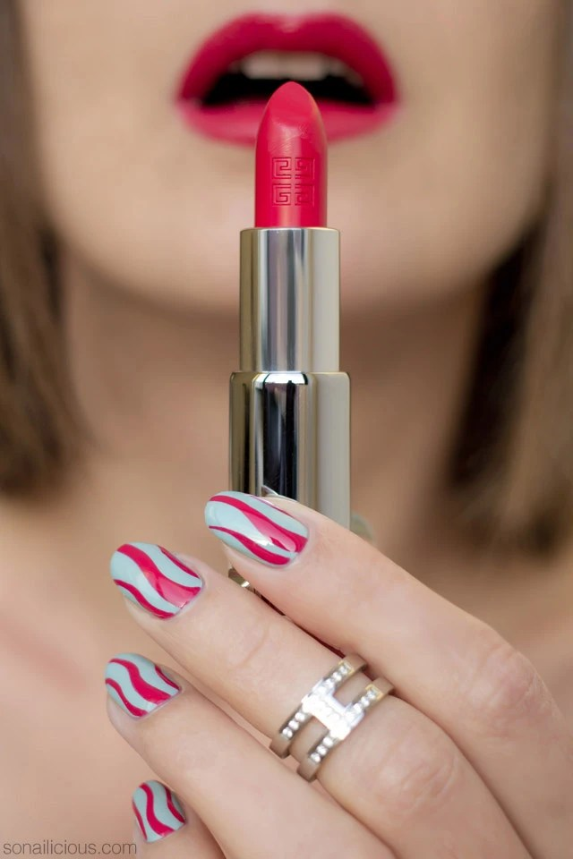 The Perfect Bright Red Lipstick Givenchy Le Rouge 305