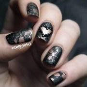 elegant valentine's day nail