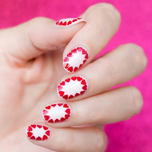 Easy Valentine S Day Nail Art