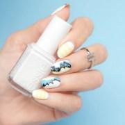 versace nails essie blanc - sonailicious