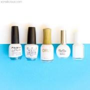top 5 white nail polishes