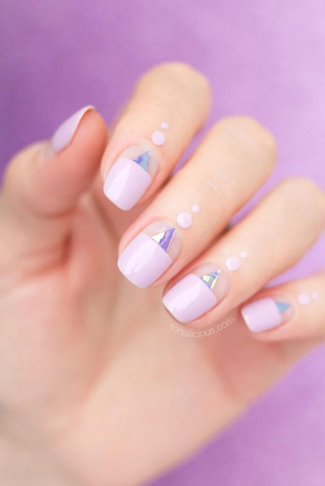 birthday nail design, beautiful nails
