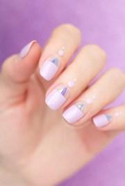 birthday nail design beautiful