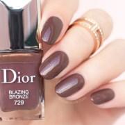 5 stunning dark brown nail polishes