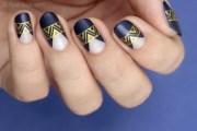 tutorial elegant party nails