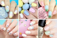 12 Amazingly Easy Easter Nail Designs To Try This Weekend