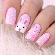 amazingly easy easter nail design
