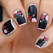 incredible flower nail design