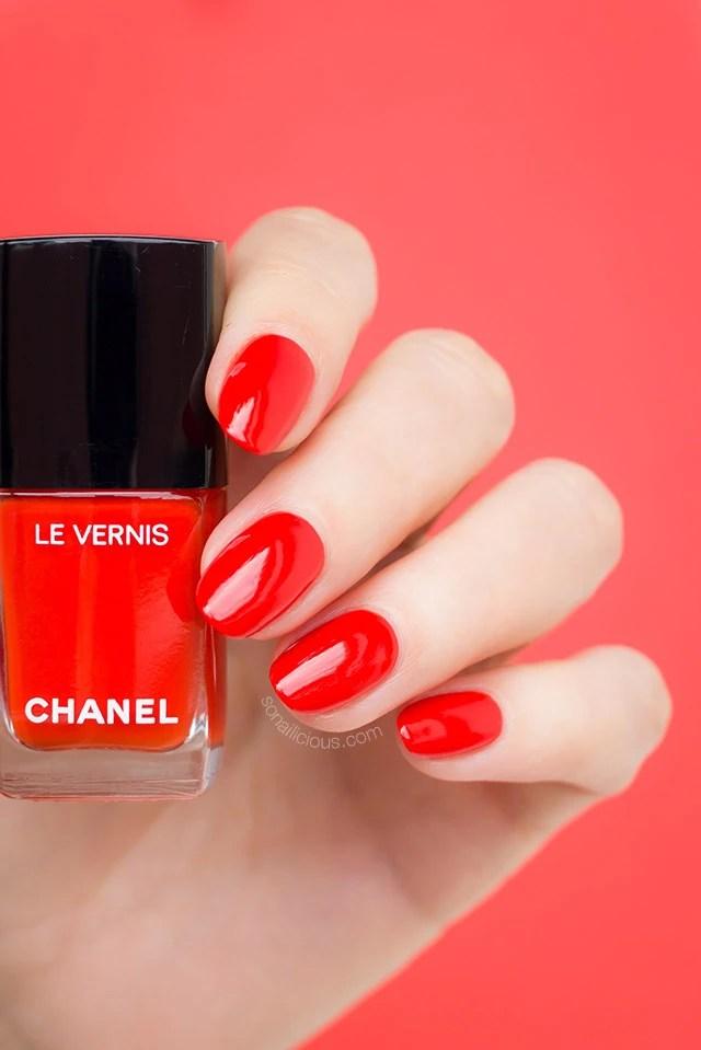 Must Have Orange Red Chanel Arancio Vibrante Review