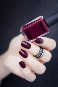 Kester Black Narcissist: The Perfect Dark Red Nail Polish