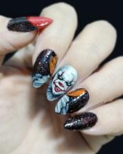 scarily stunning halloween nail