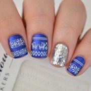 fabulously easy christmas nail