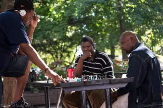 Chess Players at the Woodruff Park, Atlanta, GA