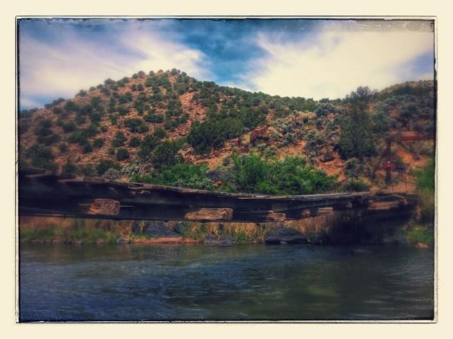Foot bridge on Gorge - taken and edited in Nexus 5