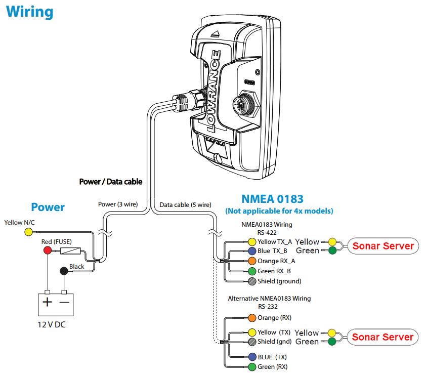Sonar Transducer Wiring Diagram For, Sonar, Get Free Image