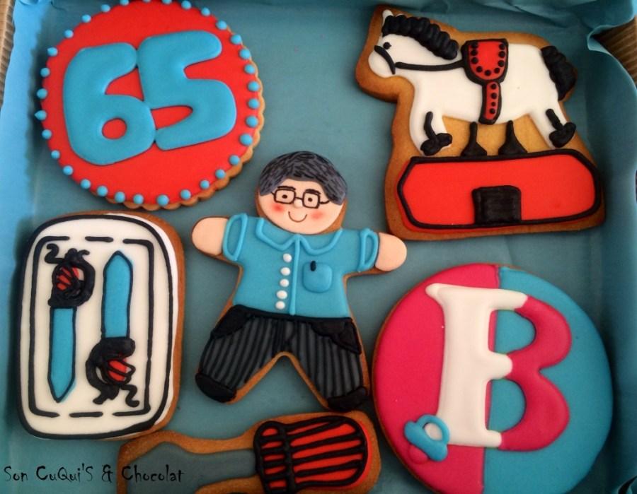 Los  65 años del Sr. Emilio