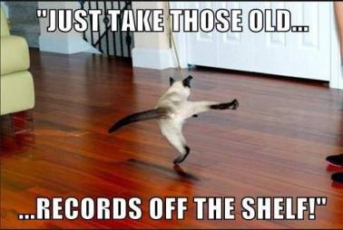 OLD RECORDS DANCE