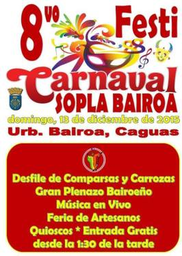 Festi-Carnaval Sopla Bairoa 2015