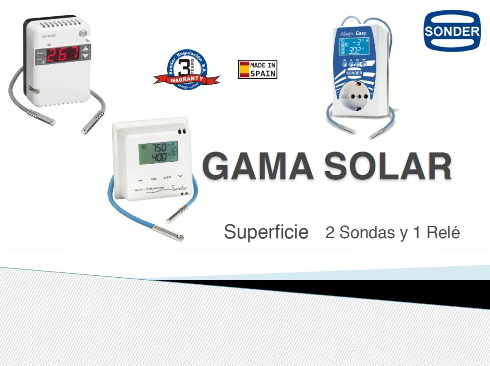 Presentación Gama Solar